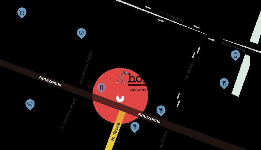 Mapa de ubicación - Homie