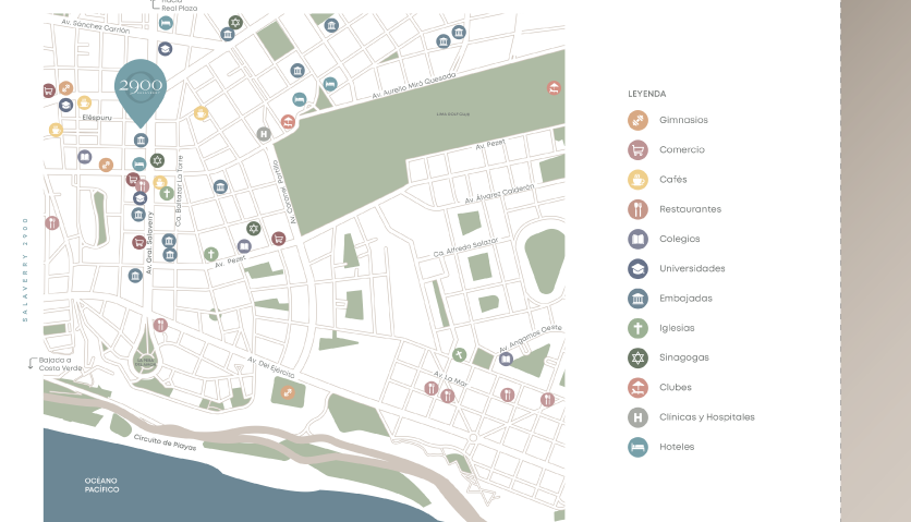 Mapa de ubicación - Proyecto Salaverry 2900